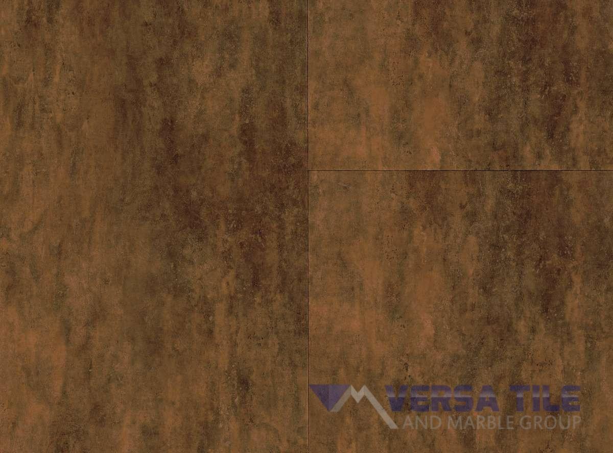 Aged Copper Floor Installation